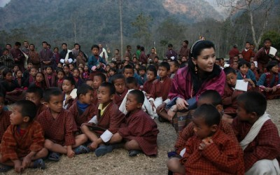 The Queen of Bhutan