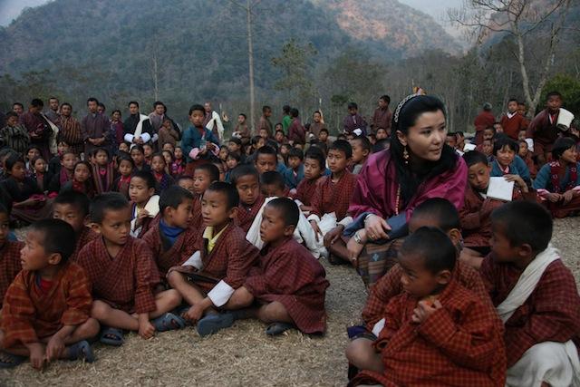 The Queen of Bhutan