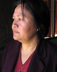 Zipporah Sein Former Secretary, Karen Women's Organization. Mae Sariang, Thailand.