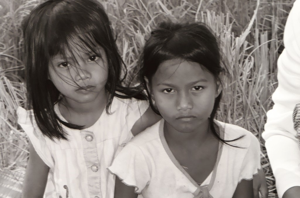 Girls from Cambodia