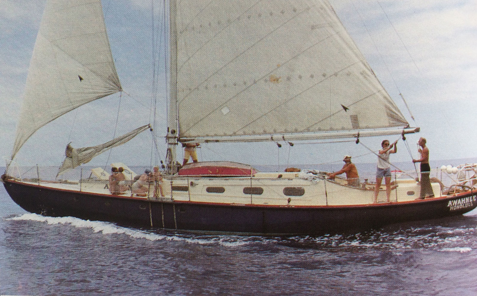 Ahwahnee at sea