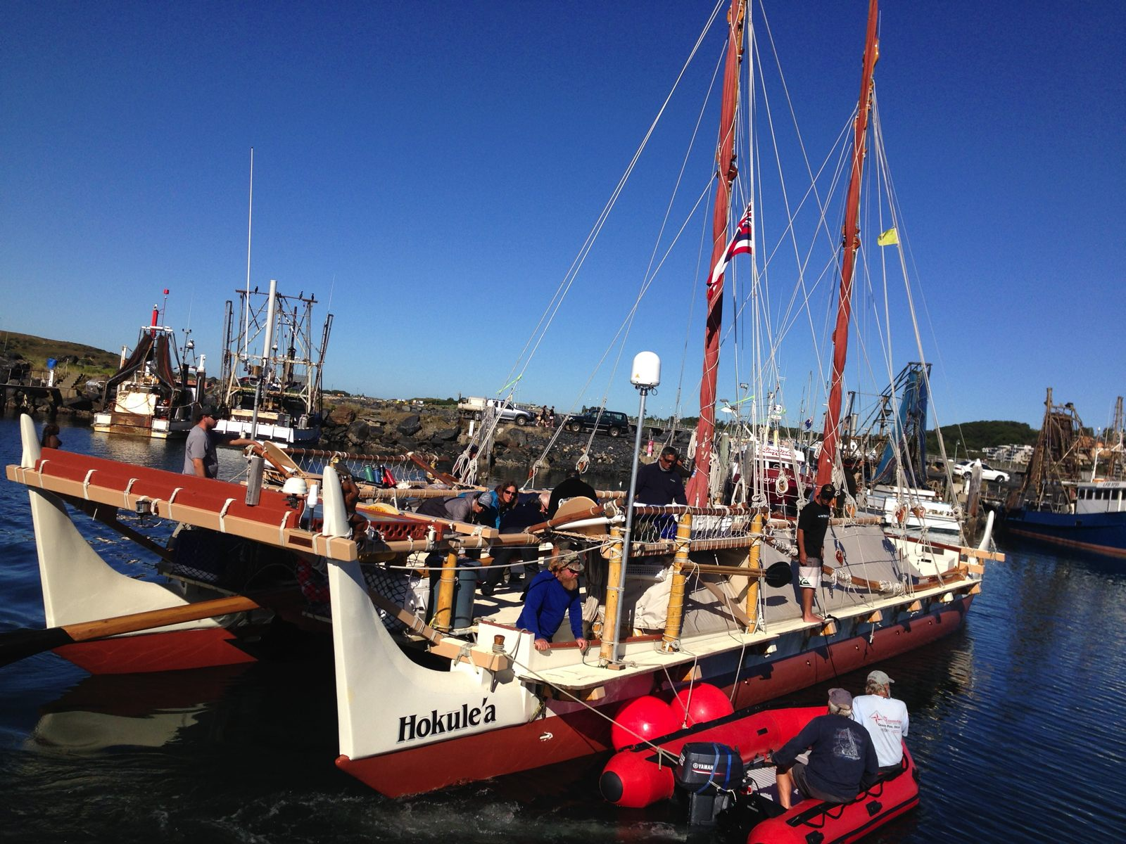 Hokulea in Coffs Harbour, Australia 2015