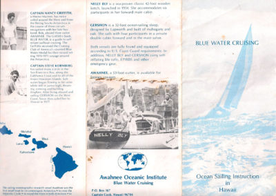 Blue Water Marine Brochure (Outside)