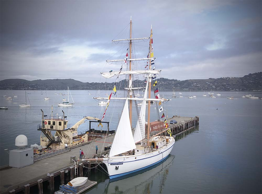 Matthew Turner docked in San Francisco Bay © Call of the Sea